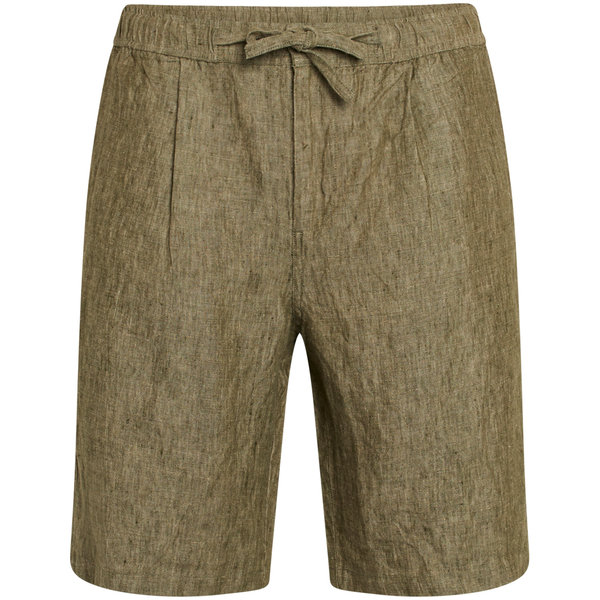 Knowledge Cotton Apparel  FIG loose linen shorts